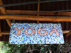 yoga mosaic from Sky Temple Yoga in Yelapa